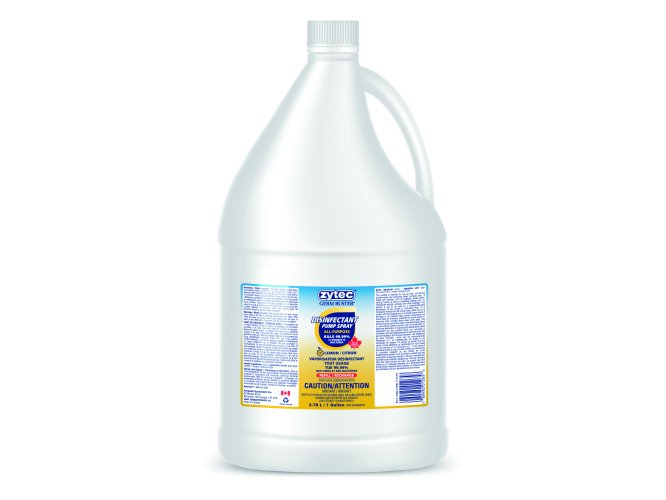 Zytec Disinfectant Spray Refill - 3.7L/1Gal