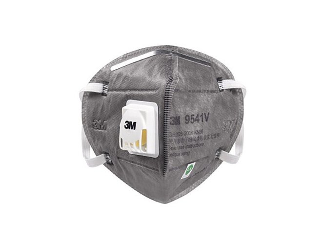 3M 9541V  KN95 Face Mask Particulate Respirator