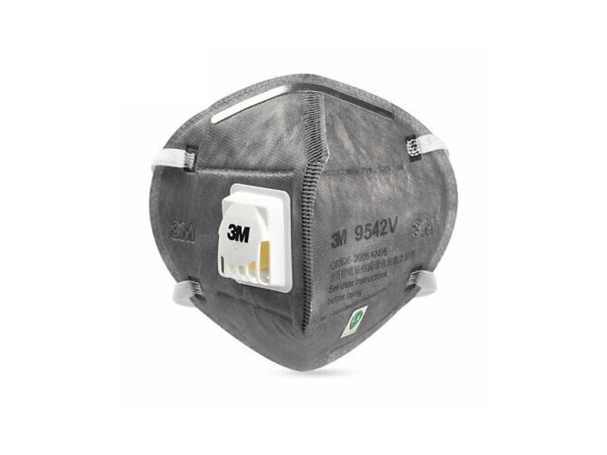 3M 9542V  KN95 Face Mask Particulate Respirator
