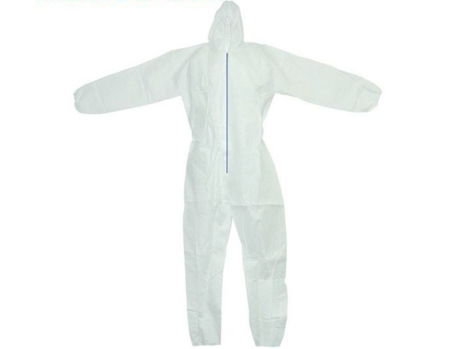 Polypropylene Coveralls HazMat Suit